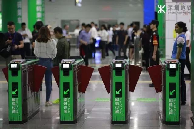 深圳地铁扫码注册量破百万 日均使用量22.8万人次