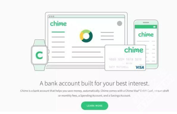 手机银行Chime完成7000万美元C轮融资