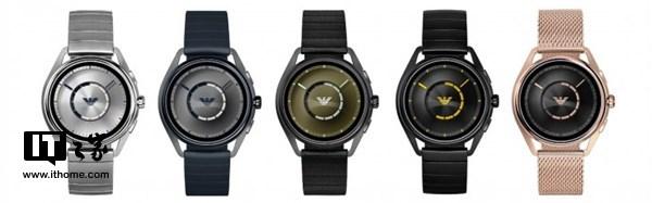 阿玛尼推出智能手表 支持Google Pay及支付宝
