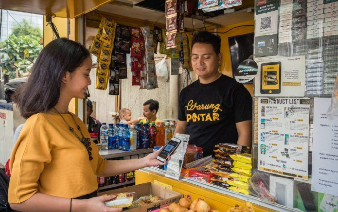 Go-Pay接入印尼夫妻店数字化提供商Warung Pintar支付体系