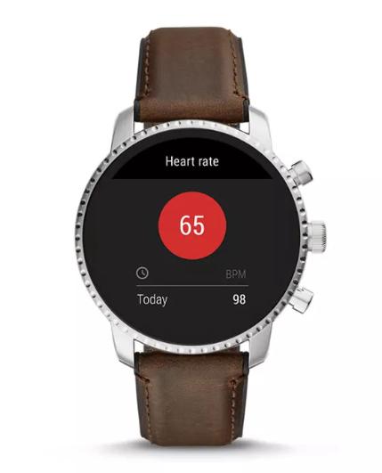 Fossil推新款智能手表:支持Google Pay、心率追踪