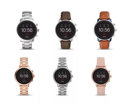 Fossil推新款智能手表:支持移动支付