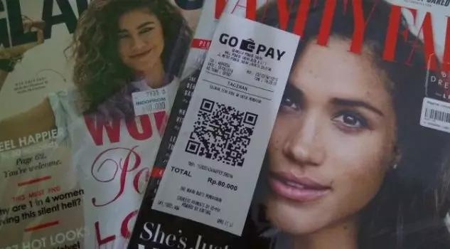 Go-pay 已经开始在线下大规模推广