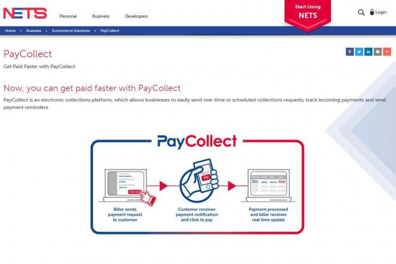 新加坡电子支付运营商Nets新推出PayCollect