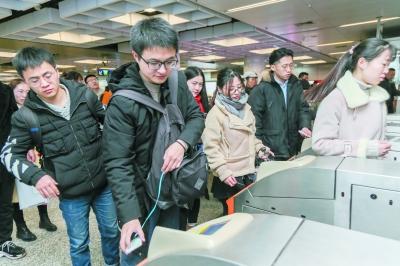 南京地铁开通移动支付 支持银联闪付和支付宝扫码