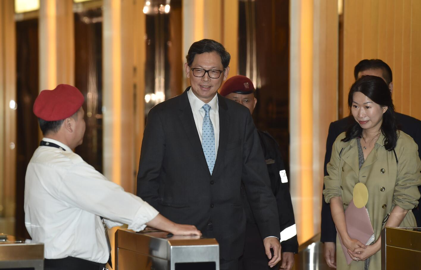 香港金管局总裁陈德霖