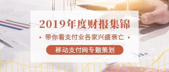 2019年度移动金融行业财报