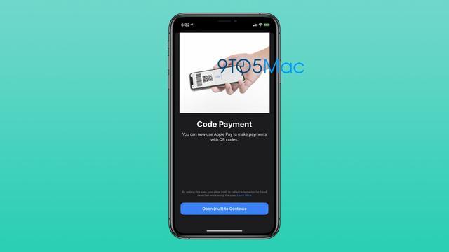 苹果将支持 Apple Pay 通过扫描二维码进行付款