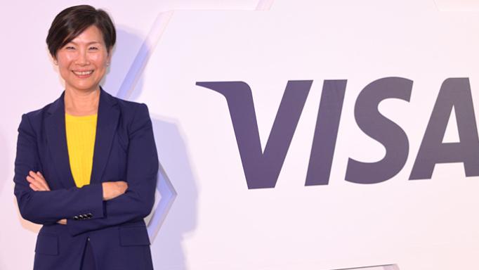 Visa新任台湾区总经理赵丽芳