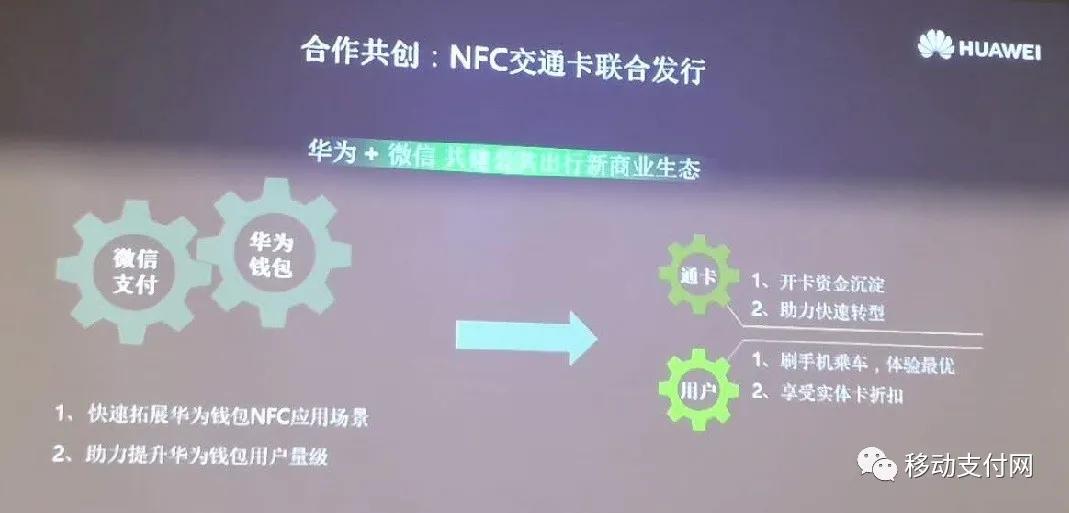 携手微信支付,推动NFC交通卡
