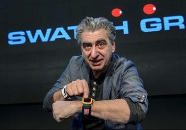 瑞士手表制造商斯沃琪(Swatch)CEO尼克·海耶克