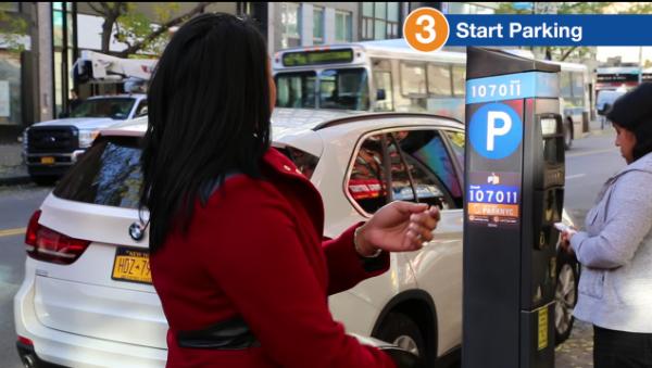 纽约市现在允许用户使用手机支付停车费
