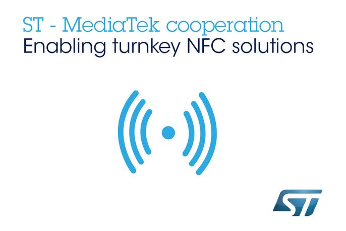 意法半导体携手联发科技,将NFC技术设计集成于移动平台